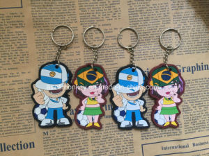 Promotional Soft PVC Keychain/Silicone Cartoon Keychain pictures & photos