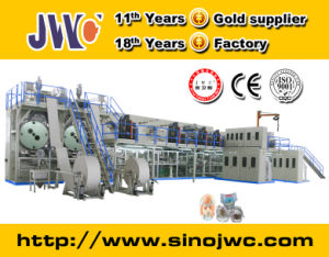 Full Automatic Machine for Making Baby Diaper (JWC-LLK400-SV) pictures & photos