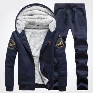 100% Cotton Men′s Full Zip Fleece Hoodies pictures & photos