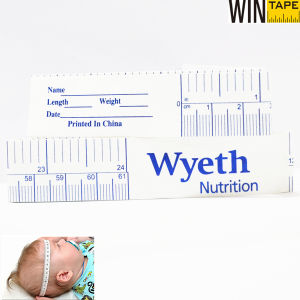 61cm Custom Baby Disposable Medical Product Gift Measuring Tape for Head Circumference Upon Your Design with High Quality pictures & photos