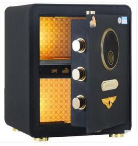 New Black Fingerprint Steel Safe for Office Home Use