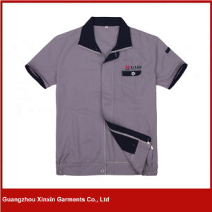 Custom Made Short Sleeve Work Jackets for Summer (W290) pictures & photos