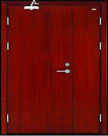 Solid Wooden Fire Door with Attractive Price and New Design pictures & photos