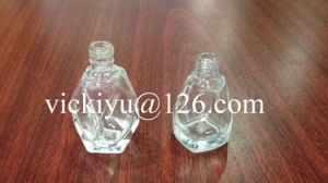 High Quality Polyhedron-Shaped Small Glass Bottles 10ml, 14ml pictures & photos