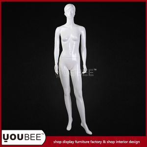 Vividly Young Lady Female Fiberglass Mannequin for Window Display pictures & photos