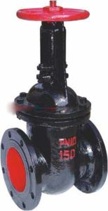 Z44tw-10 Type Dark Bar Wedge Gate Valve