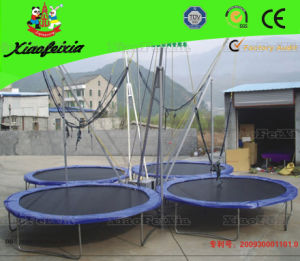 Movable Trampoline Bungee with Trailer (LG005) pictures & photos