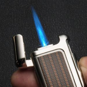 Honest Windproof Jet Flame Cigarette Butane Gas Refillable Lighter (ES-TL-034) pictures & photos