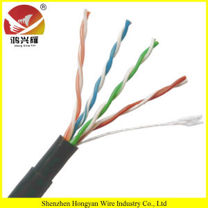 Outdoor UTP Cat5e Cable, Cat5e Outdoor Cable