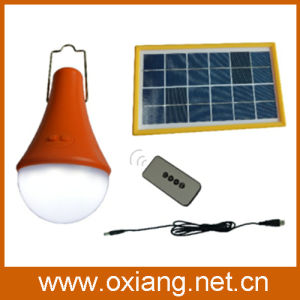 DC Solar Outdoor Light LED Lamp with 3W Solar Panel (OX-SP3) pictures & photos