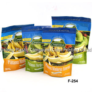 Zipper Chemical Packaging Bag with Bottom Gusset pictures & photos