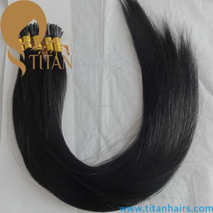 Brazilian Human Virgin Hair Keratin I Tip Hair Extension (TT429)