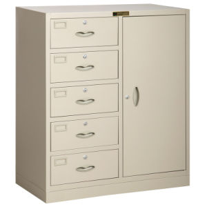 1-Door and 5-Drawers Filing Cabinet (QBW-1DR5DW)