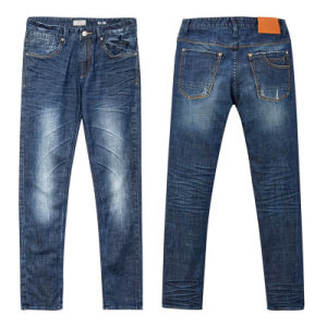 Wholesale Men′s Nice Quality Denim Cotton Jeans Pants pictures & photos