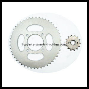 Rear and Front Sprocket for YAMAHA Motorcycle pictures & photos