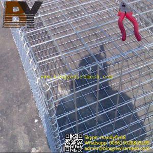 Rock Cage Galvanized Gabion Basket pictures & photos
