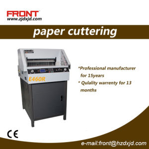 Front China Professional Manufacturer E460r Paper Cutting Machine pictures & photos