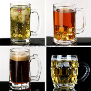 High Capacity & Quality Glass Beer Mug Cup with Various Style pictures & photos
