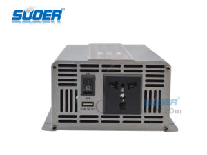 Suoer Auto DC 12V to AC 220V 1500W Power Inverter (STA-1500A) pictures & photos