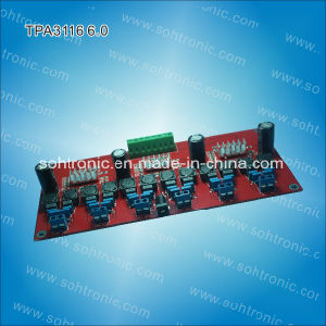 6.0 Channel Tpa3116 Digital Amplifier Module pictures & photos
