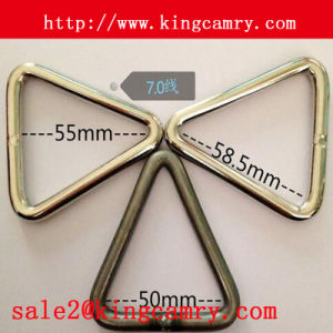 Handbag Fitting Metal Ring Triangle Split Ring Triangle Rings pictures & photos
