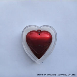Plastic USB Flash Drives USB Stick USB Flash with Heart Shape pictures & photos