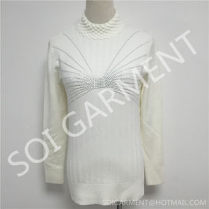 New Knitted Ladies Clothing/Sweater in Turtleneck (SOITSW-04)