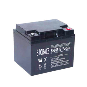 Deep Cycle Battery 12V45ah for Wheel Chair pictures & photos