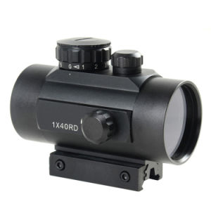 Tactical 1X40 R&G DOT Sight Scope W/10mm-20mmweaver Mount (D-10) pictures & photos