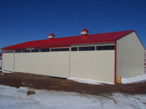 Steel Structure Warehouse with Best Insulation