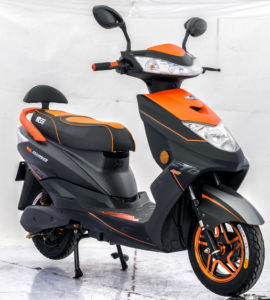 China Sports Electric Motorcycle with Front/Rear Drum Brake pictures & photos