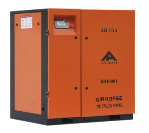 Airhorse Belt-Driven High Quality Screw Air Compressor 15HP Low Noise pictures & photos