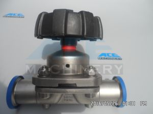 Stainless Steel Three Way Food Processing Diaphragm Valve (ACE-GMF-D8) pictures & photos