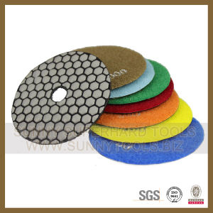 Flexible Dry Diamond Polishing Pad for Marble Granite Polish pictures & photos