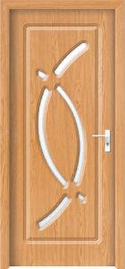 Glass Insert Wood Interior Door (WX-PW-182) pictures & photos