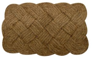 Indoor Outdoor Coconut Coir Coco Fiber Natural Woven Rope Doormats Rugs Carpets Floor Door Mats pictures & photos