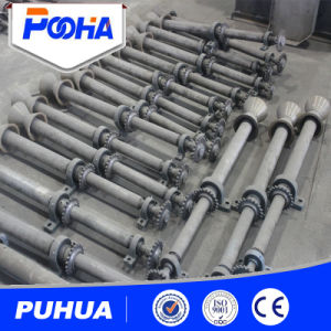 Hot Sale Q69 Roller Table Conveyor Shot Blasting Machine pictures & photos