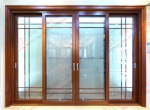 Durable Alumnium Brief Sliding Patio Door (BHA-DS03) pictures & photos