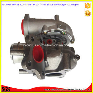Engine Parts Gt2056V Supercharger Turbine 14411-Eb700 767720-5004s 767720-0002 Yd25 Turbocharger for Nissan D40