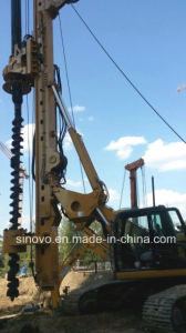 Electro-Hydraulic SF608 SF708 SF808 Track Pile Driving Rig pictures & photos