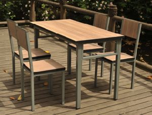 Rectangular Dining Table and Chair for Restaurant Furniture (DT-15) pictures & photos