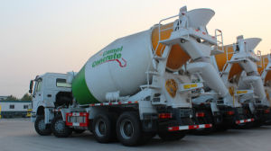 Sinotruck HOWO/A7 12wheeler 14/16/18/20 M3/Cbm Concrete/Cement Mixer Truck