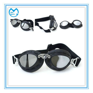 PC Mirror Dirt Bike OTG Goggles with Elastic Wide Band pictures & photos
