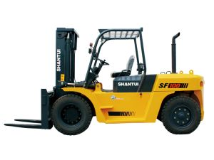 Forklift Truck 10 Ton with Chinese Engine pictures & photos
