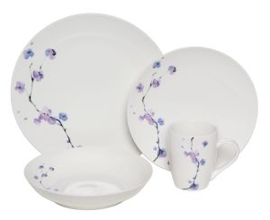 Purple Ceramic Place Setting Set Serving for 4 pictures & photos