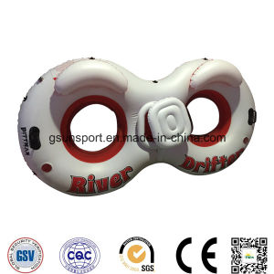 Water Ski Sport Tube Ski Tubes with Ice Bucket Two Peoples