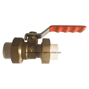 Brass Ball Valve for PPR Pipe pictures & photos