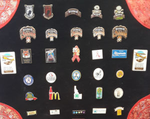 Custom Plated Badge Silver Metal Emblem pictures & photos