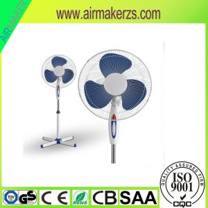 2017 Home Appliance 16 Inch Electric Pedestal Fan with Cross Base pictures & photos