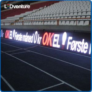 Outdoor Full Color Perimeter Stadium LED Banner pictures & photos